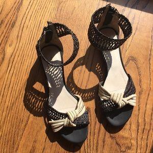 All Black - Gladiator style sandals